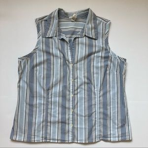 Old Navy Perfect Fit Stretch Sleeveless Blouse